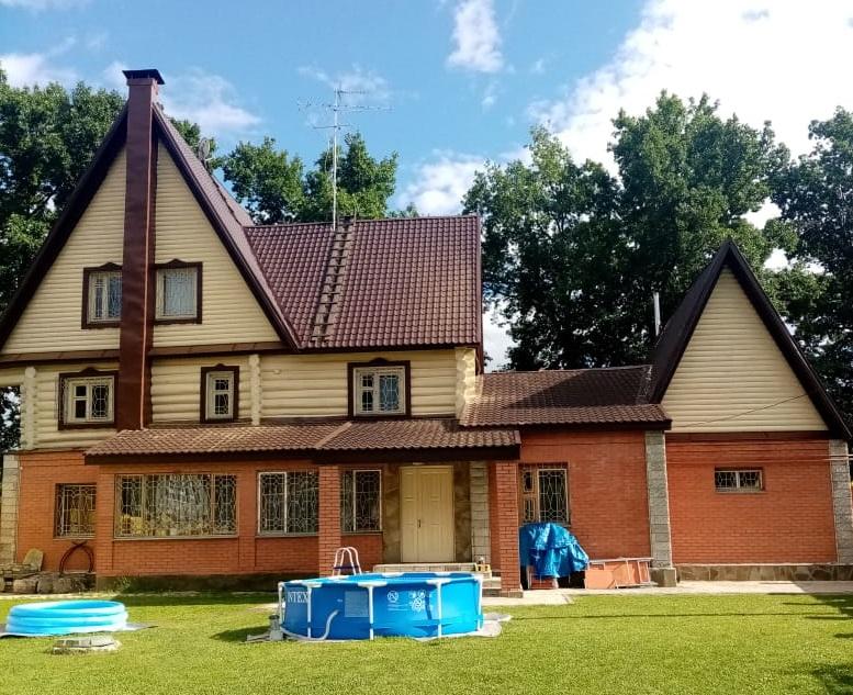 Покраска частного дома